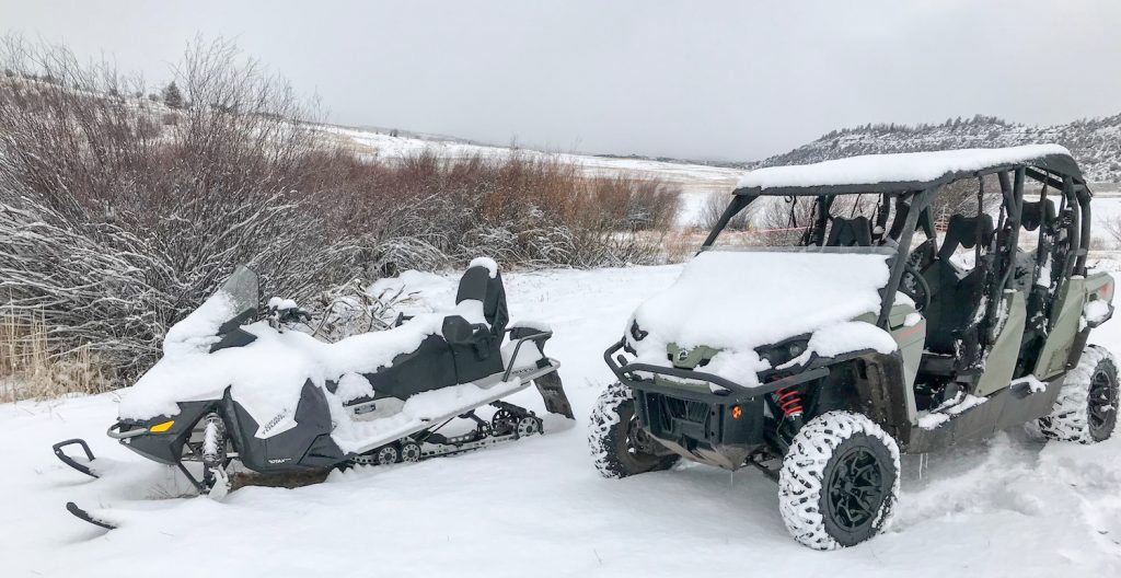 ATV and Snowmobile Combo Trip