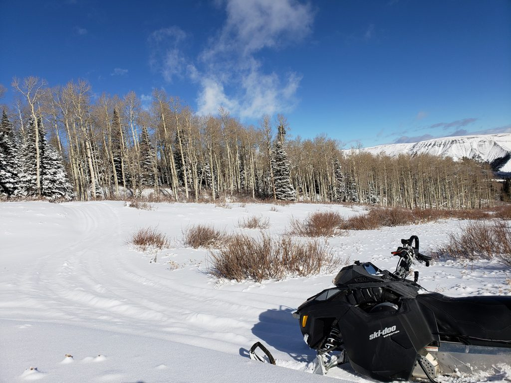 Holiday Snowmobile Adventure